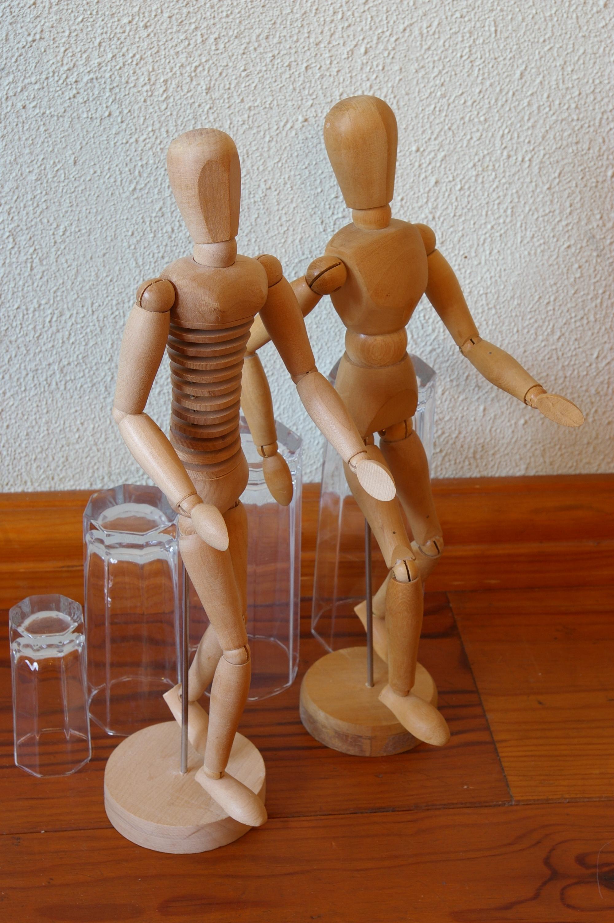 Voorstelling h-en-W met houten poppetjes (32)